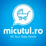 Baby Care- baveta cu imprimeu si manecute