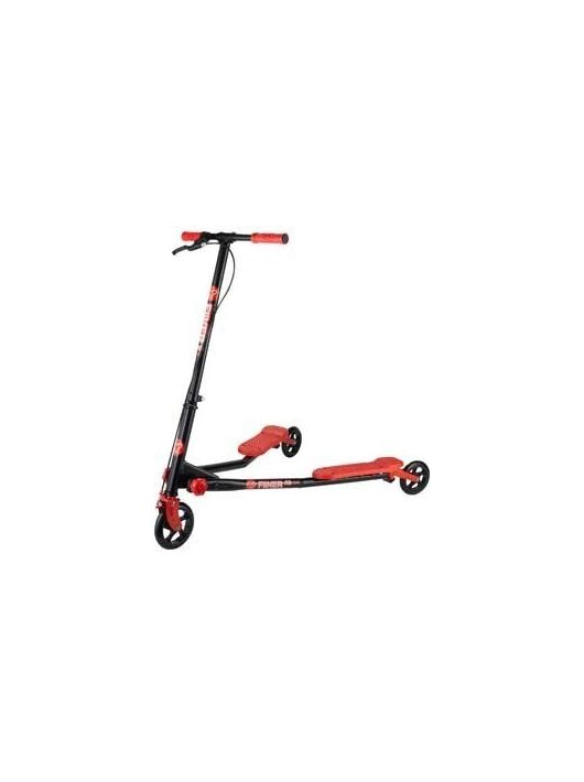 Ybike Yvolution Fliker A3 Black Red - trotineta