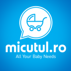 BabyOno organizator pentru carucior - pink/gri