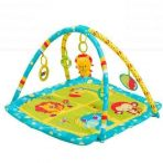 BabyOno covoras de joaca Safari turquoise 1155