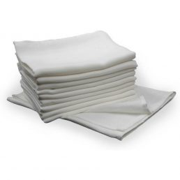 Scamp Scutece textile albe - 10 buc