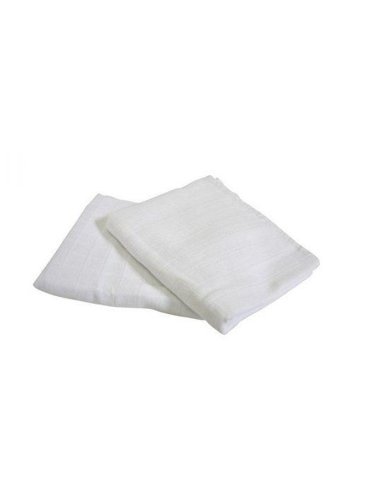 Scamp Scutece textile albe - 3 buc