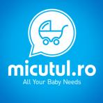 BabyOno Prosop special pentru bebelusi cu gluga 76x76 cm – albastru cu soricel