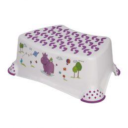 Lorelli Step Stool Inaltator pentru copii - Hippo Alb