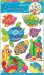 Room Decor Sticker de perete - Animale din ocean 50x30 cm