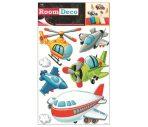 Room Decor Sticker de perete - Avioane 42x25cm