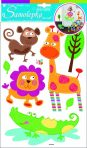 Room Decor Sticker de perete - Animale din safari 35x21cm