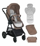 Lorelli Starlight SET Carucior transformabil 3in1 - Beige 2018