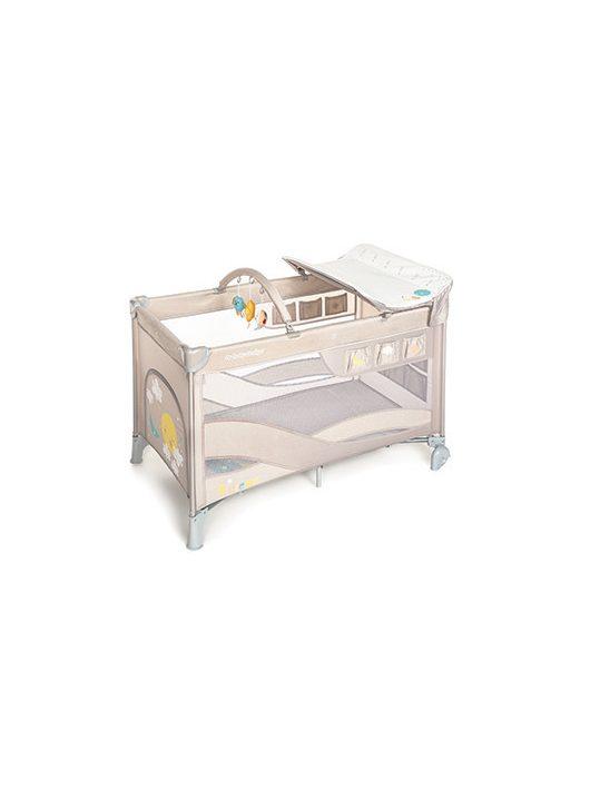 Baby Design Dream Patut Pliabil cu 2 nivele - 09 Beige 2020