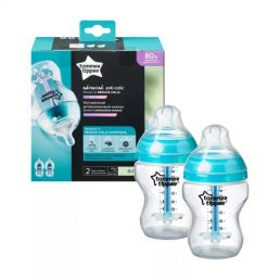 Tommee Tippee - Closer to Nature, set biberoane anticolici 2x 260 ml
