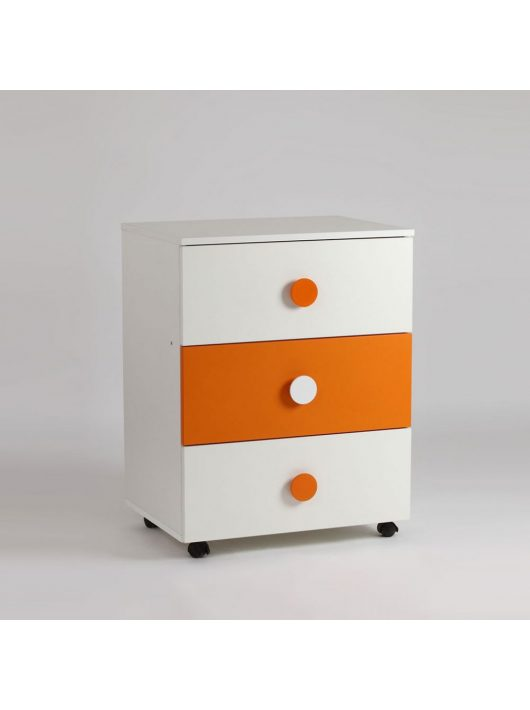 Bebe Design Comoda Domino Portocaliu