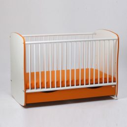 Bebe Design Clasic Confort 60x120 cm patut portocaliu